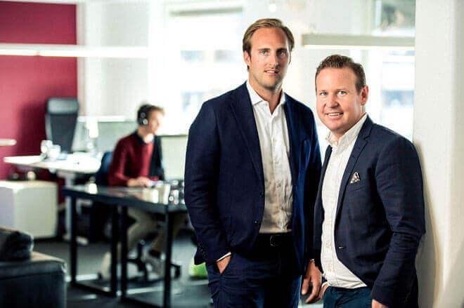 Jonas Rydberg och Pontus Holgersson