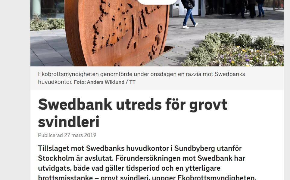 Swedbank skandal