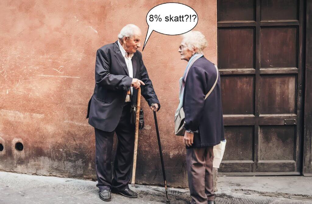 Skatt på pension