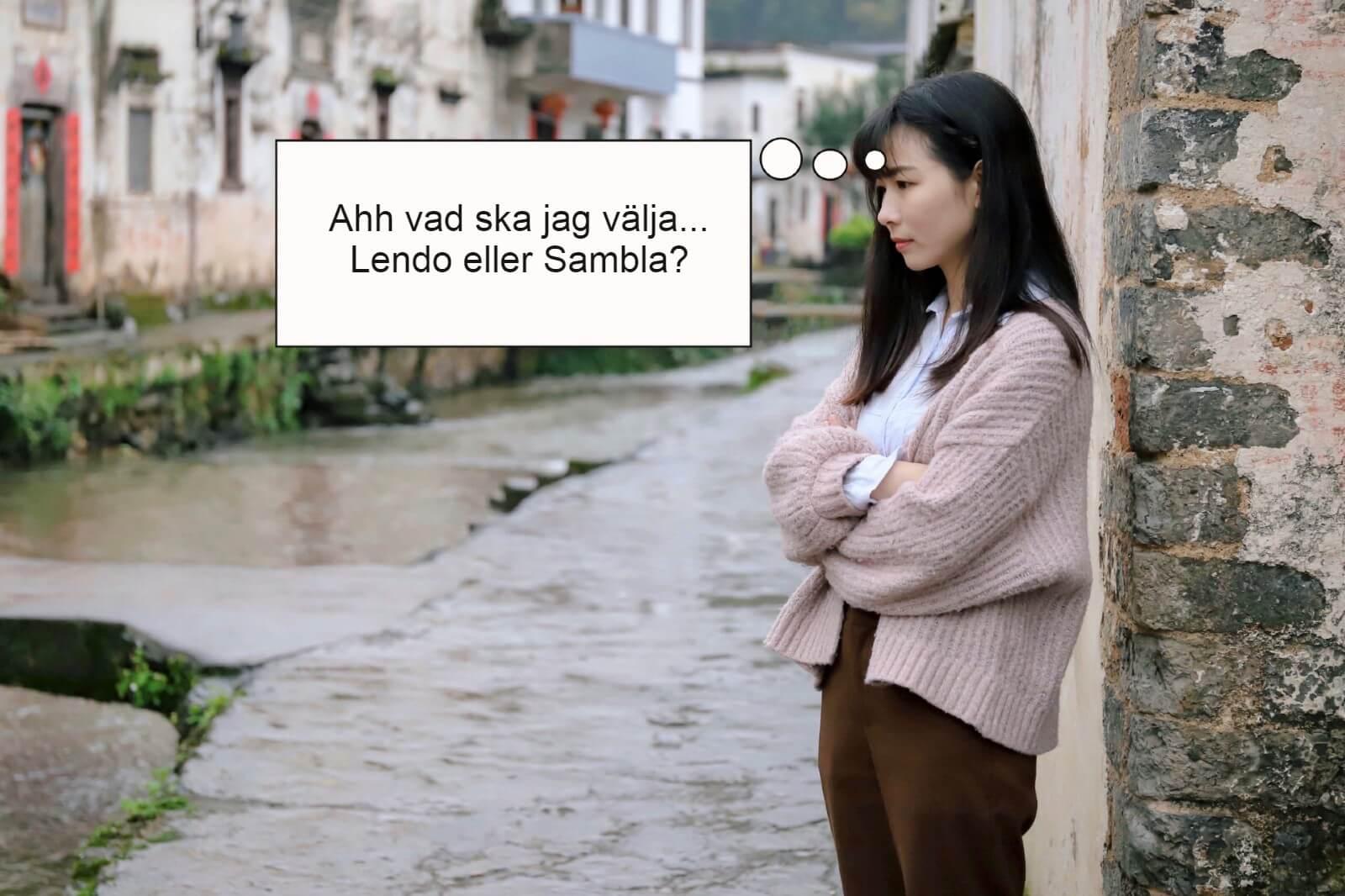 Lendo eller Sambla
