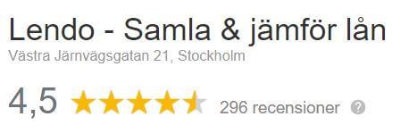 Google Reviews - Lendo