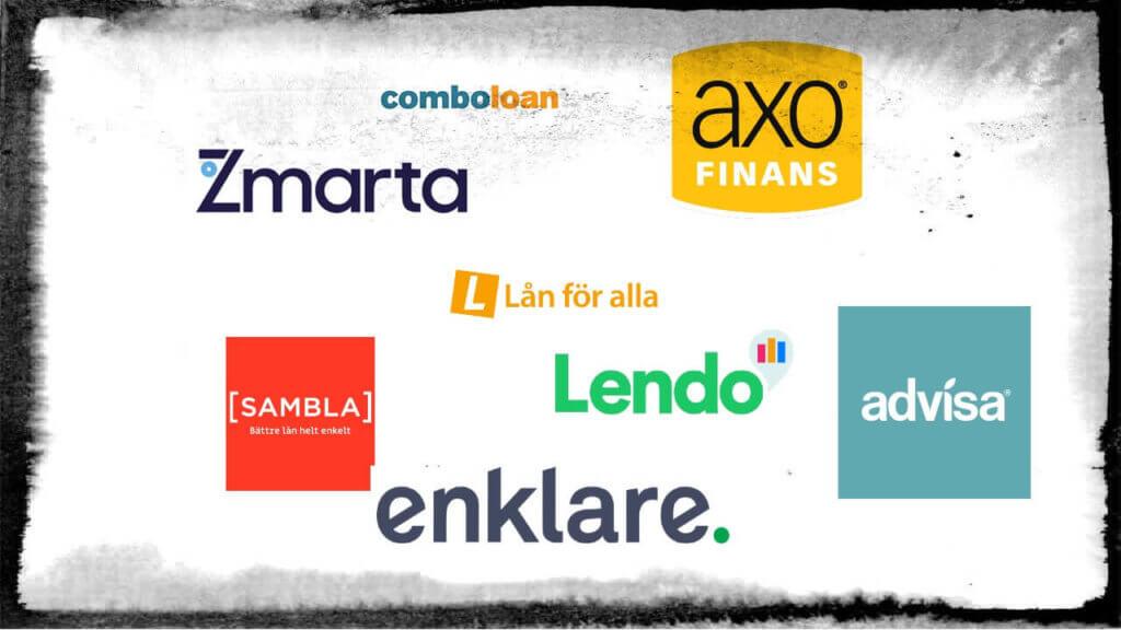 Sveriges bästa låneförmedlare